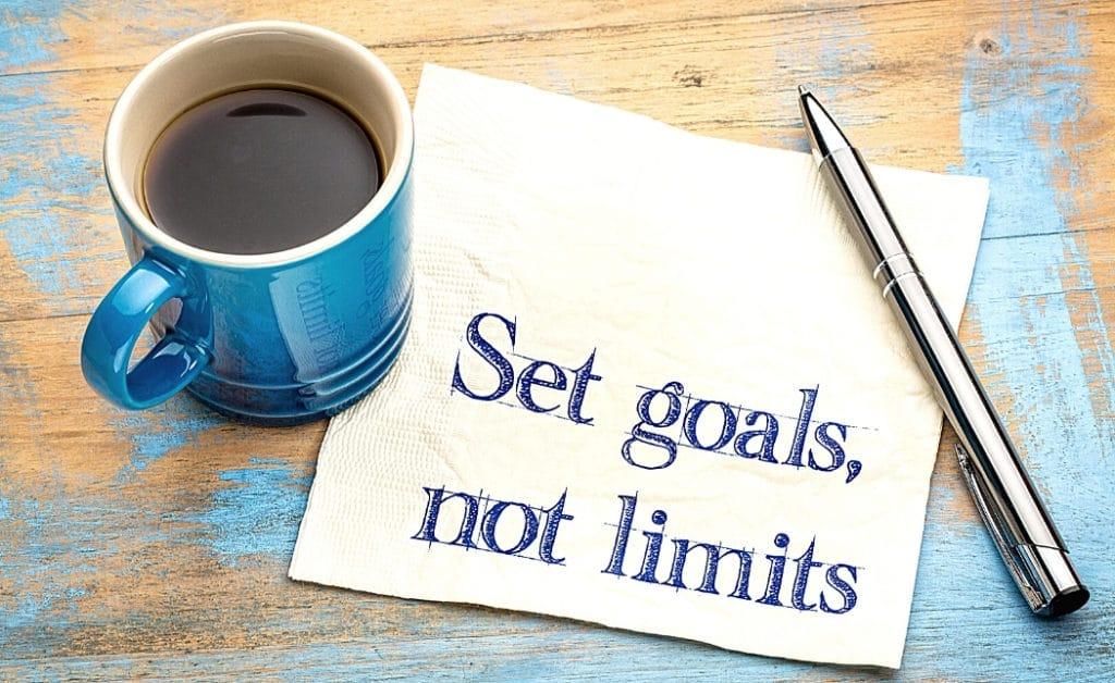 set goals not limits